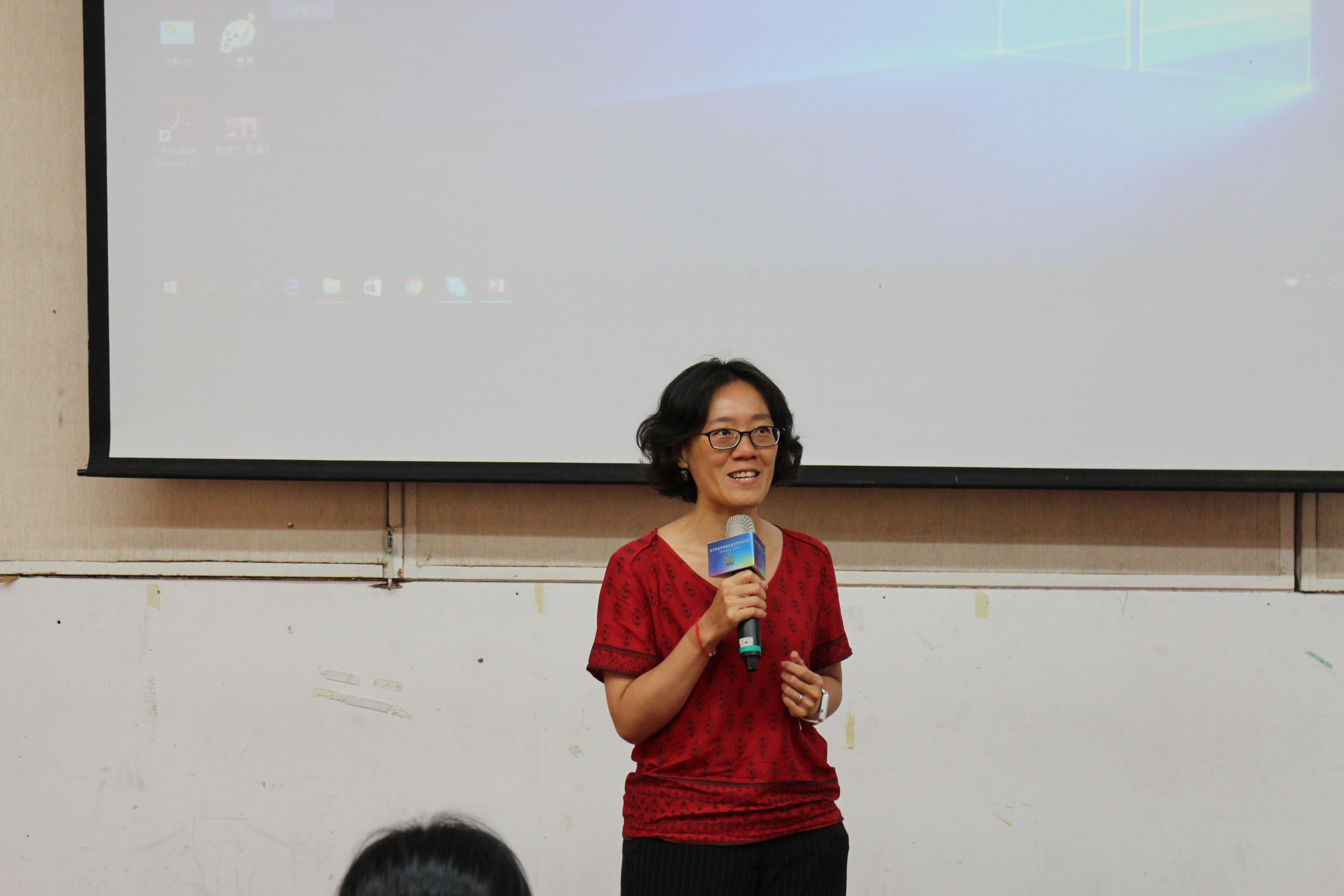 中興大學紀凱容副教授分享觀察感想與鼓勵